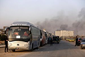 Nhóm phiến quân cuối cùng bác tin buông súng rời Đông Ghouta