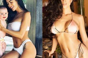 2 lần sinh nở nhưng người mẫu Đà Lạt vẫn xứng là 'nữ thần bikini'