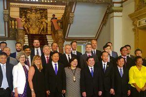 Tổng lãnh sự các nước quan tâm về phát triển đô thị thông minh TP.HCM