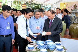 Thủ tướng tin tưởng Bát Tràng sẽ là làng kiểu mẫu về ngành nghề truyền thống