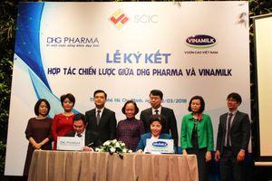 Hợp tác Vinamilk - Dược Hậu Giang: Cộng hưởng sức mạnh 2 doanh nghiệp đầu ngành
