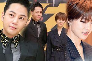 Jang Geun Suk - Han Ye Ri đẹp đôi tại họp báo ra mắt phim 'Switch'
