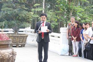 Gần 2.000 học sinh Hà Nội thăm khu di tích K9 Đá Chông