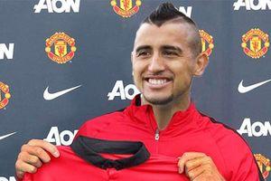 MU ký 4 năm với Vidal, Pogba cho Mourinho bẽ mặt