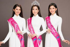 Top 3 Hoa hậu Việt Nam đẹp tựa sương mai trong tà áo dài trắng