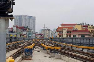 Bác tin lùi tiến độ đường sắt Cát Linh - Hà Đông