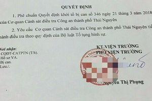 Khởi tố bị can Nguyễn Thúy Hảo về hành vi 'Lừa đảo chiếm đoạt tài sản'