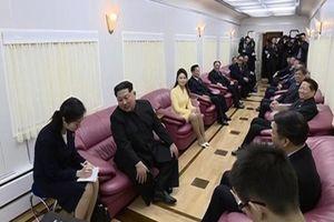 Công bố hình ảnh trong 'hỏa xa' ông Kim Jong Un thăm Trung Quốc