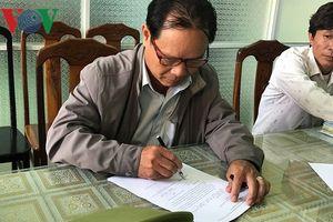 Đà Nẵng: Bắt cán bộ phường cấu kết 'cò' làm giả giấy tờ đất