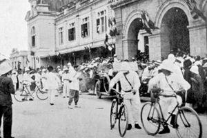 Ảnh độc chuyến ngự giá Bắc tuần của vua Khải Định năm 1918