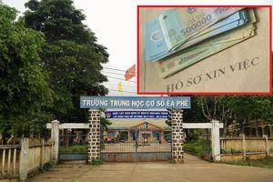Điều tra hiệu trưởng nhận hơn 200 triệu đồng để 'chạy' việc ở Đắk Lắk