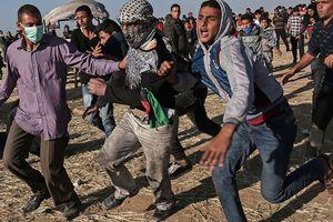 Căng thẳng tại Dải Gaza: Quân đội Israel nổ súng khiến hàng chục người Palestine bị thương