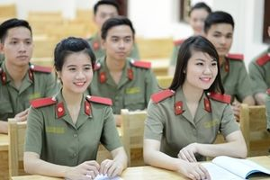 Cách đăng ký dự thi, đăng ký xét tuyển và điều chỉnh nguyện vọng vào các trường CAND 2018