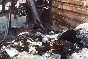 Thanh Hóa: Cháy xe container vào rạng sáng, 2 người tử vong