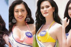 Dàn thí sinh Hoa hậu Biển VN 'đốt mắt' người xem trong trang phục bikini
