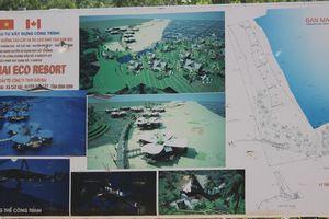 Bình Định: Khổ sở với dự án nghỉ dưỡng cao cấp trăm tỷ trên giấy