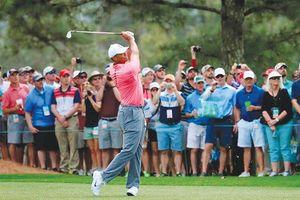 Tiger Woods được săn đón tại The Masters