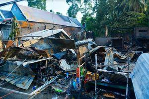 Kiên Giang: Cháy chợ thiệt hại hơn 1 tỷ đồng