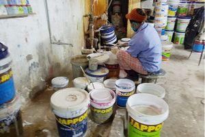Hà Đông (Hà Nội): Xưởng sản xuất sơn của Công ty Đại Việt đang ngày đêm gây ô nhiễm môi trường