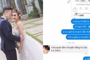 Chia tay 11 hôm, chàng trai đăng ảnh cưới với cô giáo