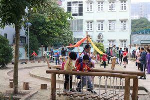 Cần lắm những sân chơi cho trẻ ở Thủ đô
