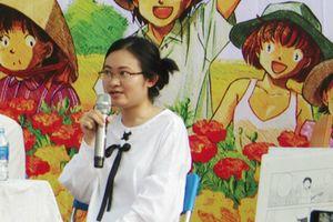Nữ họa sĩ Lâm Hoàng Trúc: 'Sáng tác truyện tranh là nghề khá dễ chịu'