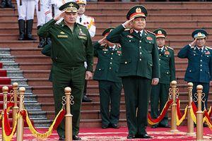 Việt-Nga ký kết lộ trình hợp tác quân sự 2018-2020