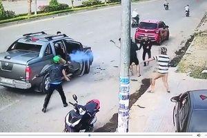 Tin mới vụ nổ súng, chém nhau ở Đồng Nai: Đang lấy lời khai của Ngọc 'sẹo'