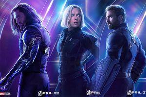 Fan dành hết sự chú ý cho… mông của Captain America và Bucky trong poster 'Infinity War'