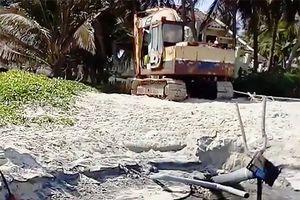 Bình Thuận khẩn trương khắc phục tình trạng nước thải đen ngòm xả thẳng ra biển Mũi Né