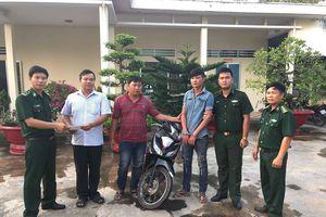Bắt đối tượng trộm cắp xe gắn máy