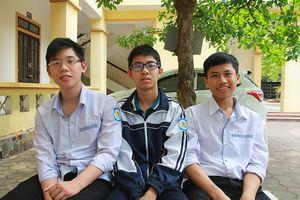 Bí quyết của 3 'huy chương Vàng' Toán học Trường THPT chuyên Phan Bội Châu