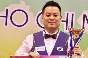 Hàn Quốc độc diễn ở nội dung 3 băng Billiards Carom châu Á