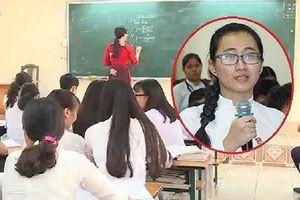 Dân mạng đưa ra lý do nữ sinh phản ánh cô giáo không giảng bài nên ở lại trường cũ