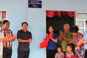 Báo PLVN bàn giao 4 căn nhà tình thương cho bà con nghèo ở Sóc Trăng