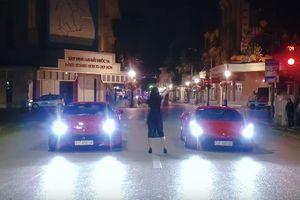 Tuấn Hưng cùng xế cưng Ferrari 488 GTB đóng MV ca nhạc