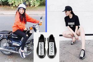 Hòa Minzy đụng sneakers giá gần 20 triệu đồng với Kỳ Duyên, trông thế nào cũng chẳng thấy sang!