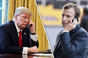 Tổng thống Pháp, Mỹ nhất trí rằng vũ khí hóa học vừa được dùng ở Syria