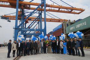 Hải Phòng: Cảng Nam Đình Vũ đón chuyến tàu đầu tiên
