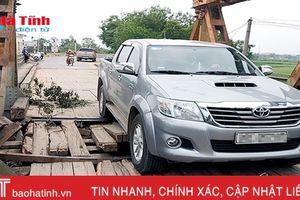 Video: Nín thở qua... cầu Lộc Yên