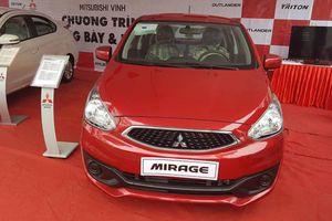Mitsubishi Mirage giảm 25 triệu, đối thủ Kia Morning và Hyundai i10 choáng váng