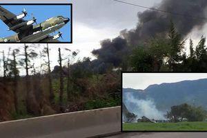 Algeria: Máy bay quân sự rơi, 257 người chết