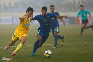 Bùi Tiến Dũng dự bị, Thanh Hóa bị loại khỏi AFC Cup 