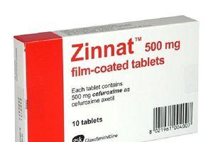 Phát hiện thuốc Zinat 500 mg giả