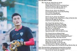 Bùi Tiến Dũng và U23 Việt Nam lần lượt xuất hiện trong đề thi