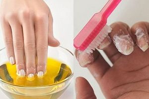 Mẹo đơn giản tẩy trắng móng tay vàng ố