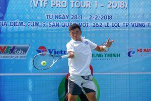 119 tay vợt 'khủng' Việt Nam tham dự giải Tây Ninh VTF Pro Tour