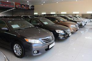 Hơn 18.600 ô tô cũ được rao bán giá dưới 600 triệu đồng