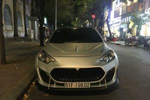 Chiêm ngưỡng Kia Cerato độ chất như siêu xe tại Việt Nam