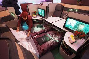 Bên trong khoang máy bay thương gia xa xỉ bậc nhất thế giới